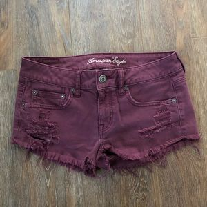American Eagle distressed shorts 4